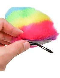 7c9fe0ed5e954 OverDose Mujeres Diademas Zorro Oreja Diadema Pinza de pelo Orejas de gato  de peluche Prenda para el pelo sombreros Accesorios populares Elf oído…