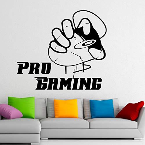 ziweipp Gaming Mouse Wandtattoos Videospiele Gamer Removable Vinyl Wall Stickers Wasserdicht 58 * 68cm
