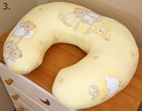 Breastfeeding Pillow / Matternity Back Support Baby Nursing Nest - Pattern 3