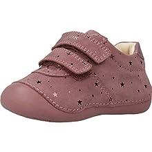 Geox B TUTIM B, Baskets Basses Bébé Fille, Rose (DK Pink C8006), 21 EU