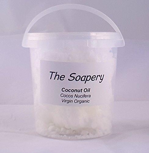 Huile de noix de coco vierge Extra 500g, PUR, Raw, certifié biologique et pressée à froid