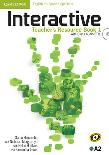 Interactive for Spanish Speakers  1 Teacher's Resource Book with Class Audio CDs (4) - 9788483236178