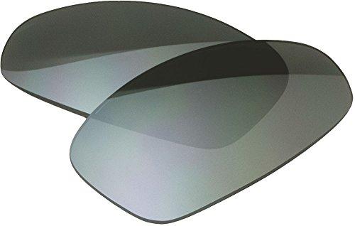 Zero Ersatz-Objektive für Oakley Juliet Sonnenbrille, Slate Mirror