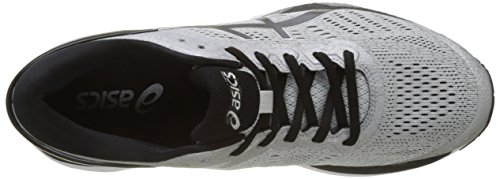 Asics Gel-Kayano 24, Chaussures de Running Homme Gris (Silver / Black / Mid Grey)