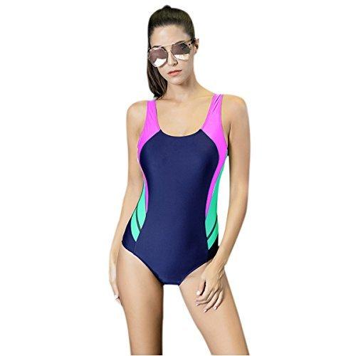 Mufly Mujer Bikini atractiva Trajes de baño Pieza Push Up Bañador Bañadores...