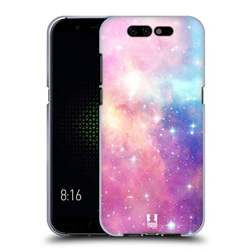 Head Case Designs Magenta Und Blau Galaxie Pastell Soft Gel Hülle für Xiaomi Black Shark