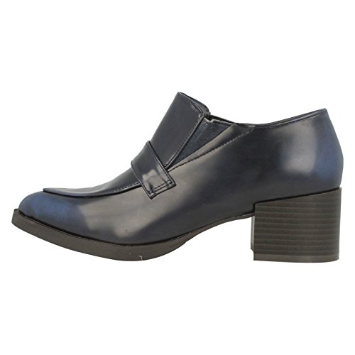 Spot Loafer pour chaussures à talon Bleu Marine