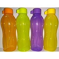 Juego de Tupperware Eco Easy. 4 botellas de 500ml