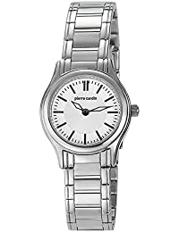 Pierre Cardin Special Collection - Reloj analógico de cuarzo para mujer, correa de acero inoxidable, color plata/plata/plata, Swiss Made