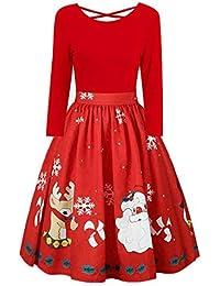 1714ee3ef7 Amazon.es  Vestidos Para Navidad  Ropa