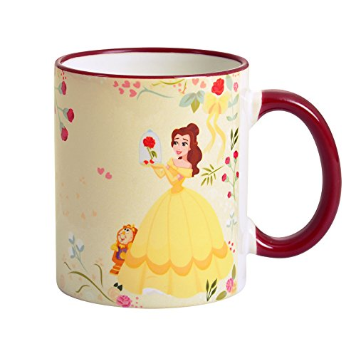 La Belle et la Bête Disney tasse Belle Believe In Love par Elbenwald 320ml jaune céramique