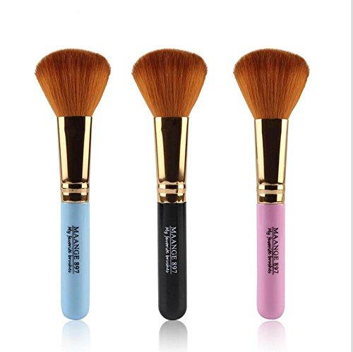 SMX&xh Blush pinceau Outil cosmétique de maquillage Doux Poudre de fond de visage de poudre 3PCS