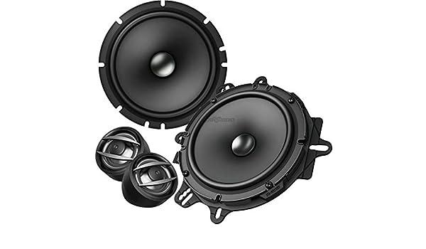 Lautsprecheradapterringe 165mm+Kabeladapter für Opel Astra F+G vordere Türen