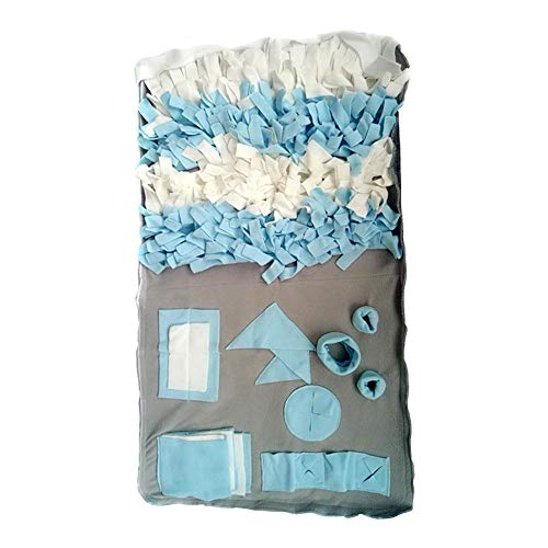 beiaux Hunde Schnüffelteppich Fütterung Matte Spielzeug, Hund Snuffle Mat für kleine große Hunde Nosework Decke Spielzeug Mat Sniffing Training Pad -