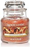 Yankee Candle Small Jar Candle, Cinnamon Stick