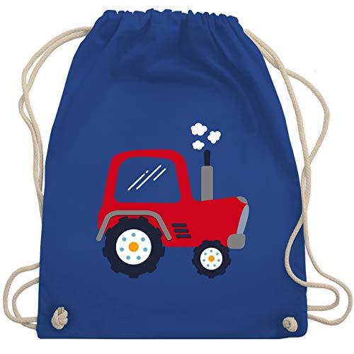 Fahrzeuge Kind - Kinder Traktor - Unisize - Royalblau - WM110 - Turnbeutel & Gym Bag