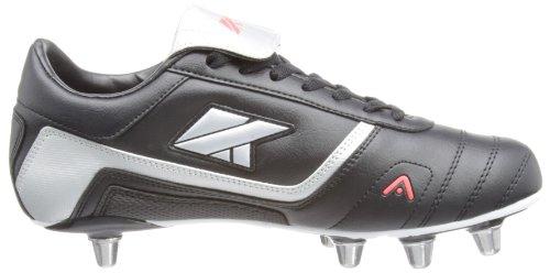 Kooga Harrier MCHT Fußballschuh Herren schwarz - noir - Noir/gris/rouge