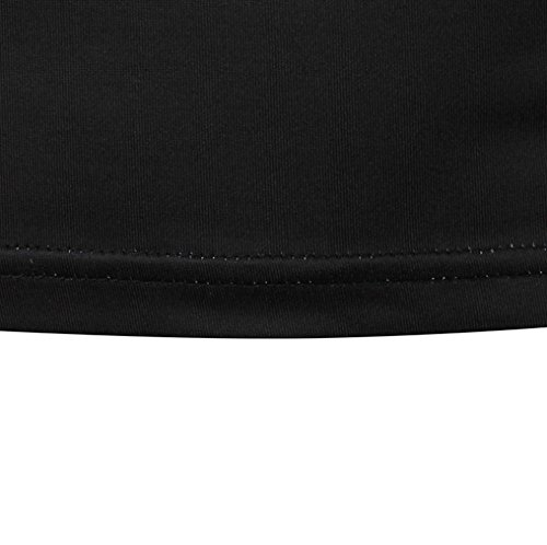 OverDose Herren Sommer t-shirt Printed Slim Fit Casual Kurzarm T-Shirts Tops Bluse MehrfarbigA