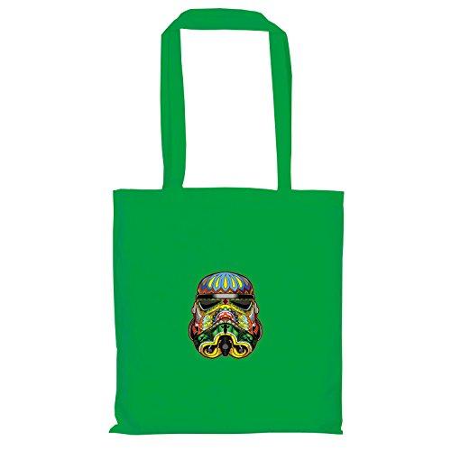 Texlab–Art Trooper–sacchetto di stoffa Verde