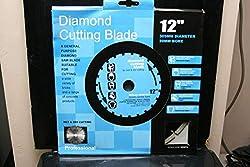 DIAMOND CUTTING DISC BLADES 4 BRICK STONE 305mm 12