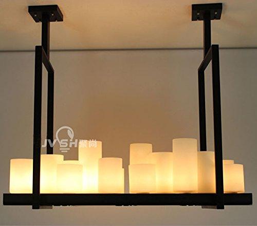 SJUN—Nordic American Vintage Kerzenleuchter Kronleuchter Kreative Wohnzimmer Esszimmer Studie Raum Kronleuchter,150Cm