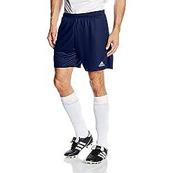 adidas Parma 16 SHO WB Pantalones Cortos, Hombre, Azul (Dark Blue/White), L