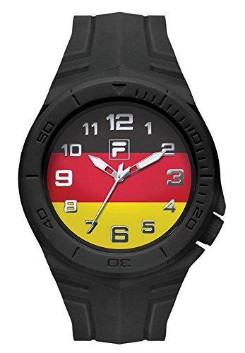 Fila unisex reloj Ventilador deporte (072(005fila casual bandera de Alemania)