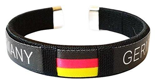EM 2016 Fanartikel Unisex, Deutschland EM 2016 Armband, Fan Edition