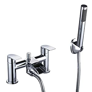 bath shower tap hapilife waterfall bathroom water filter mixer tub tap chrome with handheld. Black Bedroom Furniture Sets. Home Design Ideas