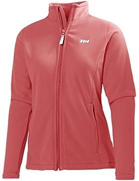 Helly Hansen Daybreaker Fleece - Forro polar para mujer, color naranja, talla M