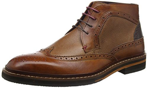 Ted Baker Cinika, Stivaletti Uomo, Marrone (Tan/Dark Brown), 43 EU