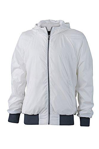 James & Nicholson Sports Jacket, Giacca Uomo bianco/blu