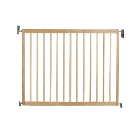 Lindam Erweiterbares Holz-Schutzgitter mit Wandbefestigung-Verstellbreite 63,5cm bis