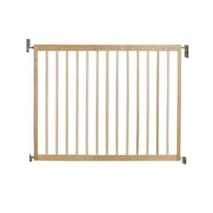 Lindam Wall Fix Extending Wooden Safety Gate   1
