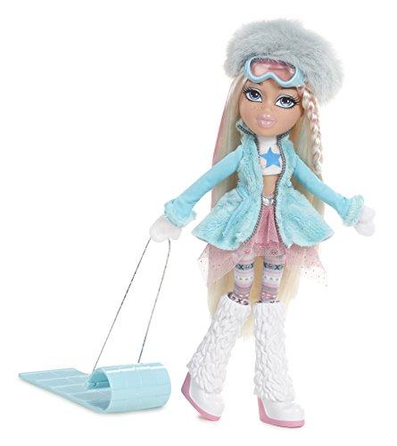 Bratz Puppe–Anziehpuppe: Snowkissed-Cloe–Inklusive 2Outfits und Schlitten