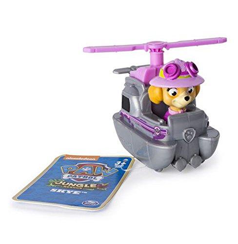 PAW-PATROL-Rescue-Racer-modell-SKYE-Jungle-Rescue-SPIN-MASTER-Fahrzeug