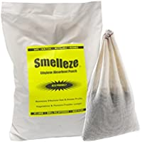 SMELLEZE riutilizzabile ethylen Gas Absorber Pouch: trattata 300 SQ. FT.To mantenere frutta e verdure (Gas Naturale Frigoriferi)