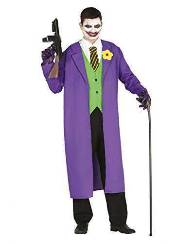 Schurken Kostüm für Herren 3-tlg. | M/L M (Halloween Kostüme Helden Und Schurken)