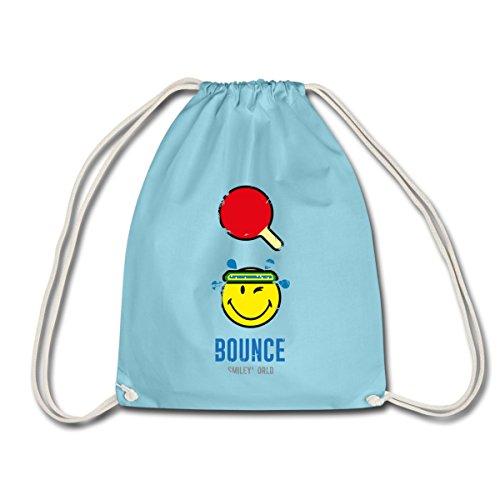 smiley-world-bounce-ping-pong-raquette-sac-de-sport-leger-de-spreadshirtr-aqua