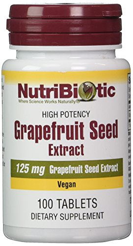 NutriBiotic, Grapefruit Seed, Extract, 125 mg, 100 Tablets Test