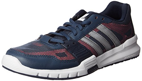 adidas Essential Star .2, Chaussures de Running Compétition Homme, Bleu, 42 EU Multicolore (Azul / Negro (Azumin / Hiemet / Rojimp))