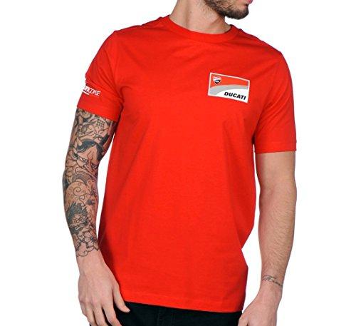 Camiseta Roja hombre Logo Ducati L