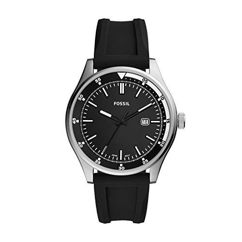 Fossil Analog Black Dial Men's Watch-FS5535
