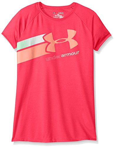 Under Armour Girl's Fast Lane Graphic Short Sleeve T-Shirt
