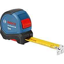 Bosch Professional Tape Measure (Length: 5 m, Width: 27 mm, in Blister Packaging)