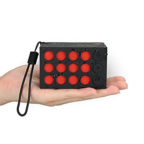 Bluetooth Speakers, Mini Speakers, Geega Wireless Waterproof Speaker Rechargeable Audio Selfie Hands-Free Calling with Mic Outdoor Speaker for Smartphones, Tablets, Laptops, PC and All Bluetooth Devices