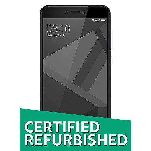 (Certified Refurbished) Xiaomi Redmi 4 (Black, 32GB)