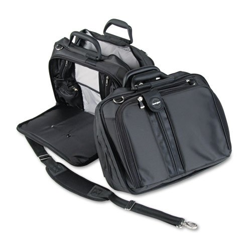 Kensington 62220Contour 15in. Laptop Tragetasche, Nylon, 16–1/2x 6–1/2x 12–1/2, schwarz