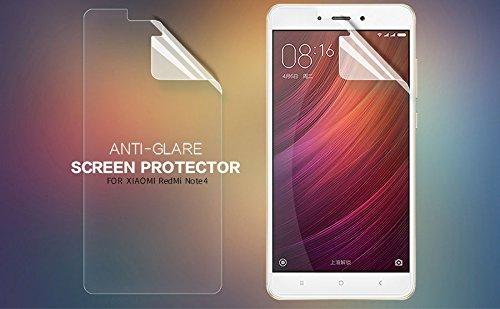Nillkin Screen Guard for Xiaomi Redmi Note 4 Whole Set Version Matte Anti Glare Front + Camera Film (India Version Of Redmi Note 4)