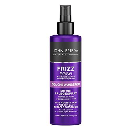 John Frieda Frizz Ease Tägliche Wunder-Kur Sofort Pflege-Spray - 2er Pack (2 x 200 ml) - nährt und entwirrt widerspenstiges Haar